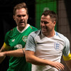 Ireland's McAteer fumes at referee over red card after Star Sixes clash with England striker Owen
