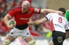 O'Connell and Varley a doubt for Munster