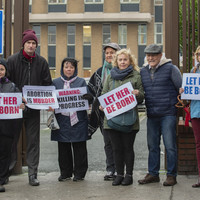 'Hospitals need to be places of care': Anti-abortion protest held outside Drogheda hospital
