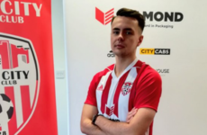 Derry City complete the capture of former Celtic youth player from Brighton