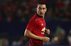Darmian happy to play anywhere for Man United after being brought back in from the cold