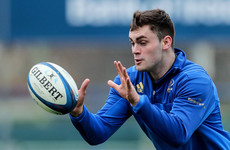 Leinster register Conor O'Brien in Champions Cup squad ahead of Toulouse