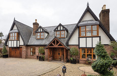 Tudor-inspired home with beautiful oak and walnut features for €695k