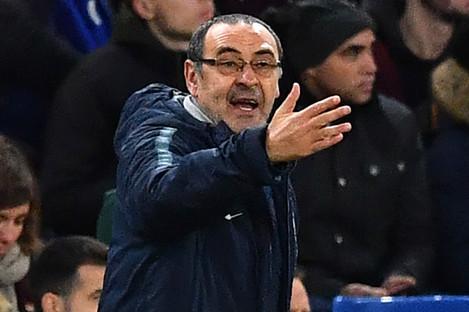 Chelsea fell 1-0 to Tottenham at Wembley.
