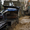 Heavy rain and snow wrecks Syrian refugee settlements in Lebanon