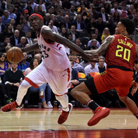 Late drama as Raptors and Nuggets scrape wins while Thompson-inspired Warriors cruise