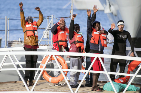 49 migrants stranded out at sea on NGO boats have fianlly been given permission to disembark in Malta.