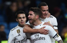 Sergio Ramos reaches 100 goals as Real Madrid receive cup boost