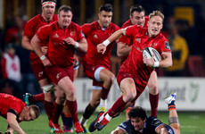 Summer signing Mike Haley building trust in Munster's 15 shirt