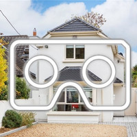 Take a VR tour around this bright and spacious home in leafy southside Dublin