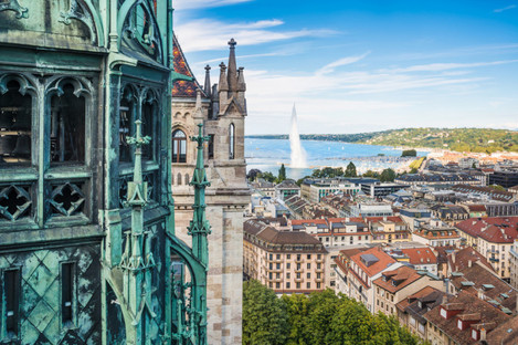 A view of Geneva, Switzerland