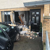 Car smashes into front of Dublin house, causing extensive damage