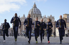 Faster, higher, holier: Vatican Athletics gets Olympic blessing