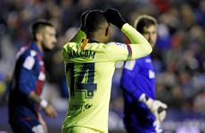 Under-strength Barcelona suffer Copa del Rey defeat