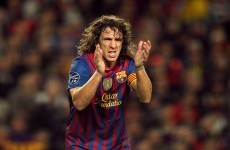 Good news for Gdansk: Puyol to miss Euro 2012, Villa doubtful