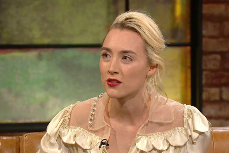 Saoirse Ronan's last Late Late Show appearance.