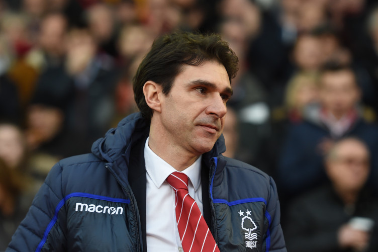 Aitor Karanka took over Notts Forest in January 2018.