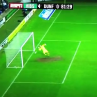 VIDEO: Ghost goal wraps up Hibs' win in relegation clash