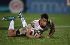 Baloucoune back from ban to make European debut in Ulster's daunting date with Racing