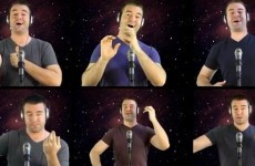 VIDEO: A Capella Star Wars Theme Tune of the Day...