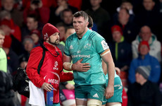 O'Mahony's popped rib the only dampener on a brilliant night for Munster