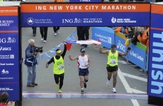 Marathon man: Chilean miner finishes 42km New York Marathon
