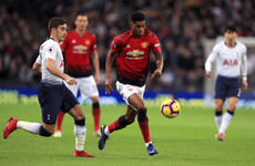 As it happened: Tottenham v Man United, Premier League