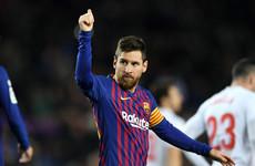 Messi nets landmark La Liga goal as Barca ease to victory