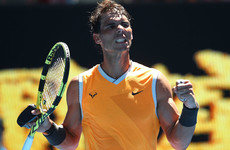 Nadal happy with new serve after comfortable win