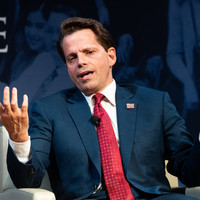 Former Trump comms chief Anthony Scaramucci going into the Big Brother house