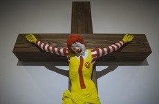Controversial 'McJesus' sculpture causes outrage and protests by Israeli Christians
