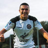 19-year-old former Bohemians striker impresses with two goals on trial with Leicester City