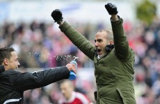 VIDEO: Paolo di Canio duets with Toploader on 'Dancing in the Moonlight'