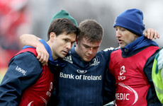 Leinster's McGrath to miss Six Nations, Patterson registered for Europe
