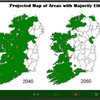 FactCheck: Does this tweet show the decline of the 'ethnic Irish' population from 2040 onward?