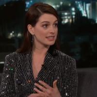 Anne Hathaway can do a weirdly impressive Matthew McConaughey impression