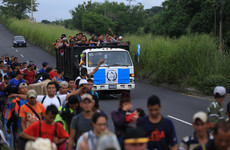 Hundreds of Hondurans set off in new migrant caravan towards US
