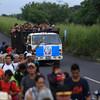 Hundreds of Hondurans set off in new migrant caravan towards US