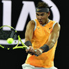Nadal overcomes slow start to progress in Melbourne as Sharapova books clash with rival Wozniacki