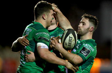 Uncapped Connacht trio rewarded for fine form as Schmidt names Six Nations squad