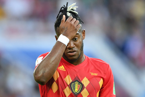Michy Batshuayi's career has stalled since joining Chelsea.