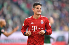 James Rodriguez 'playing for his future' at Bayern Munich, says head coach