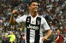Ronaldo wins first trophy at Juventus as his goal seals Italian Super Cup against AC Milan