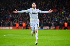 Ireland's Keogh scores the winning penalty as Derby dump out Southampton