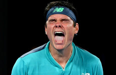 Raonic survives four-hour marathon with Wawrinka as Osaka powers into third round