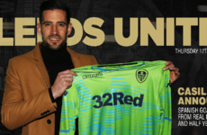 Leeds complete signing of Real Madrid goalkeeper