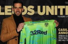 Leeds complete signing of Real Madrid goalkeeper