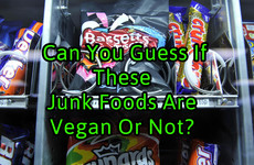 Can You Guess If These Junk Foods Are Vegan Or Not?