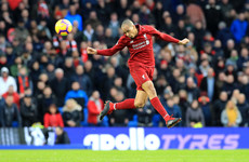 Fabinho prepared to fill in at centre-back after becoming a regular for Liverpool