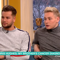 After Love Island's Chris Hughes got a testicular cancer check-up on live TV, his own brother found a lump